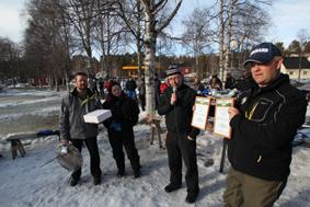 Årets vinnar AV Herr-och damklasserna Mikael Dahlström, Idre OCH Ulrika Andersson Hedemora